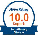 Avvo Rating 10.0 Top Attorney - Divorce