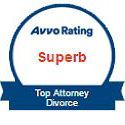Avvo Rating Superb Top Attorney - Divorce